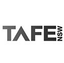 TAFE nsw logo partnered with Star DJ Hire