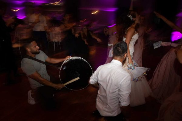 dance with a wedding dj